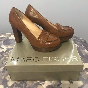Marc Fisher heels tan 7 1/2